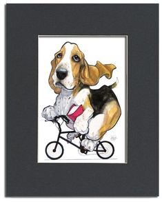 Canine Caricature Pet Portrait