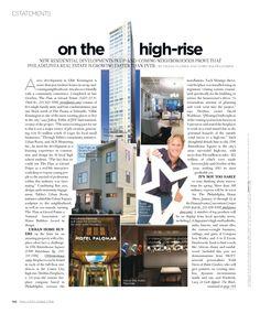 Dreifuss Fireplaces in the Dec/Jan issue of Philadelphia Style
