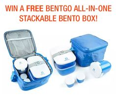 Bentgo is the all-in-one stackable bento lunch box solution. Pack healthy, balanced meals with fun variety and portion control. http://sociali.io/lp/8359/bentgo-box-giveaway