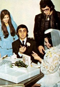 December 1970 Elvis Presley was at George Klein's Wedding in Las Vegas – Elvis Presley Priscilla Presley, King Elvis Presley, Elvis Presley Family, Elvis Presley Photos, Memphis Mafia, Lisa, Chuck Berry, Star Pictures, Graceland