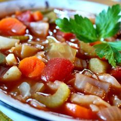 """Cabbage Fat-Burning Soup   """"The taste of this soup is fantastic!"""""""