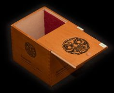 Magic: The Gathering Deck Box created from Room 101 San Andres cigar box Wooden Cigar Boxes, Deck Box, Wooden Decks, Red Felt, Magic The Gathering, Mtg, Your Cards, Card Games, My Etsy Shop