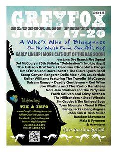 Grey Fox Bluegrass Festival - Festivals - Hudson Valley Bluegrass Association