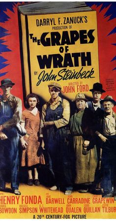 Directed By John Ford With Henry Fonda Jane Darwell Carradine Charley