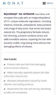 MONAT REJUVENIQE Oil! **HOW IT WORKS**  #MONAT  #HealthyHair #hairgrowth #hair #longhair