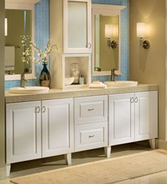 6 Tips for Installing Your Own Bathroom Cabinets - Once you've decided what  works for both your budget and your space, use these tips to empower yo…