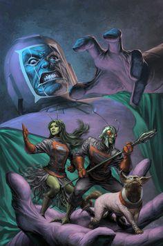 Guardians of the Galaxy #19 by Alex Garner