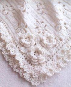Crochet Baby Blanket Gorgeous Crochet Baby Blanket - Free Crochet Diagram (Croche...