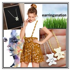 """earringsnation-49"" by nihada-niky ❤ liked on Polyvore featuring jewelry and earringsnation"