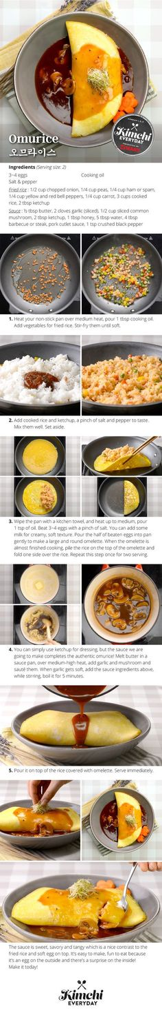 Hmart presents: How to make Omurice