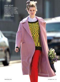 Carolin Loosen by Hans Feurer (Big Time - Teen Vogue October 2013) 2