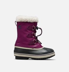 Youth Yoot Pac™ Nylon Boot | SOREL Warm Boots, Cool Boots, Winter Boots, Toddler Size Chart, Size Chart For Kids, Sleds For Kids, Scarlett Rose, Always Cold, Gift Card Shop