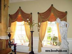 stylish luxury classic curtains and drapes 2015, curtains designs for living room