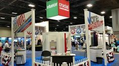 """Our team is having fun today at the #ASTD2014 conference in beautiful Washington, D.C. Our booth theme is """"Cast Your Vote ... for Organizational Change."""""""