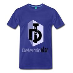For people who want to show that their determination is their strength and weapon! Determination by Determinator - Men's Premium T-Shirt