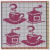 Ravelry: Potholder Coffee Break 3 pattern by Regina Schoenfeldt