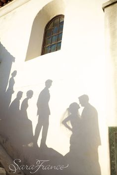 Serra Museum Wedding ~SARA FRANCE PHOTOGRAPHY~ Shadows of Love...Bride and Groom, Wedding Party.