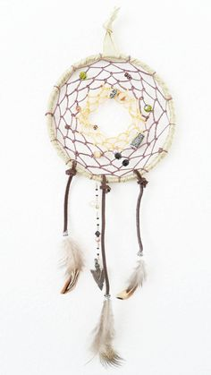 Etsy Transaction - Dreamcatcher in Earth Tone Colors : OOAK