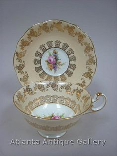 Foley Peach Cup and Saucer