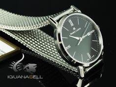 Maurice Lacroix Eliros Date Ladies Quartz watch, Black, Steel bracelet Maurice Lacroix, Quartz Watch, Lady, Stainless Steel, Bracelet, Watches, Crystals, Accessories, Wrist Watches