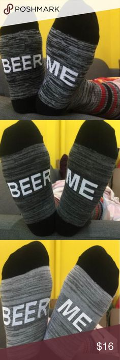 Women's  BEER ME socks BEER ME warm socks. Sizing: one size width 2,76inches, length 6,3 inches, height 7,09. Accessories Hosiery & Socks