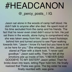 Why bring Thalia into this? I was hoping that Piper was gonna die! Sorry I don't really like her<<<Bro chill Percy Jackson Head Canon, Percy Jackson Ships, Percy Jackson Memes, Percy Jackson Books, Percy Jackson Fandom, Solangelo, Percabeth, Jason Grace, Rick Riordan Books