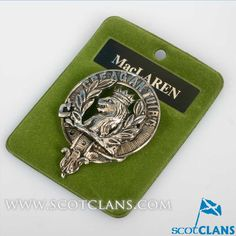 MacLaren Clan Crest Badge