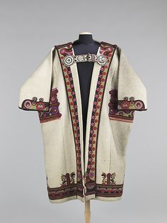 Mantle, late 19th century, Hungarian. Brooklyn Museum Costume Collection at The Metropolitan Museum of Art