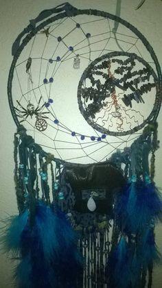 Blue Lapis Tree of Life Dream catcher
