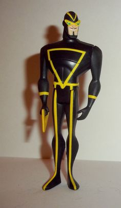 mattel JUSTICE LEAGUE UNLIMITED (dc universe animated) ANGEL MAN Condition: overall excellent - displayed only/collectable condition figure size: 4 1/2 inches