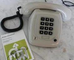 oude ptt telefoon, omgebouwd tot dect telefoon