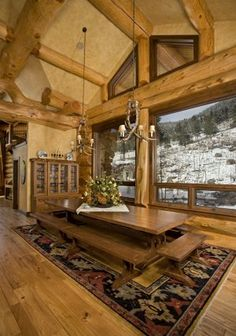 So beautiful, the scenery, the decor, and the openness. Pioneer Log Homes Of BC