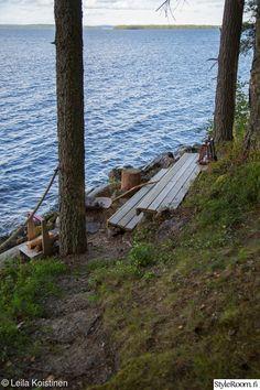 Trail, Cottage, Exterior, Cabin, Garden, Summer, Outdoor, Mood, Diy