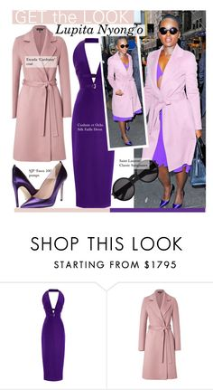 """""""Get The Look-Lupita Nyong'o"""" by kusja ❤ liked on Polyvore featuring Cushnie Et Ochs, ESCADA, Yves Saint Laurent, women's clothing, women, female, woman, misses, juniors and GetTheLook"""