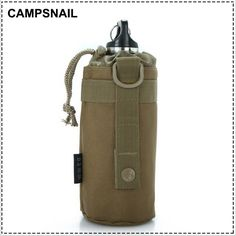 Cheap bottle dump, Buy Quality bottle opener with light directly from China gear sleeve Suppliers: MOLLE system water bottle D-ring holder drawstring purse Attack Army Durable Travel Hiking US Equipment tactical