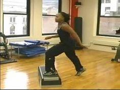 Plyometrics & Sport Step Exercises : Basic Plyometric Jump Drills for Step Exercise - YouTube