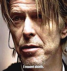 David Bowie as The Host (The Hunger TV series, Music Love, Music Is Life, David Bowie Pictures, Ziggy Played Guitar, The Thin White Duke, Major Tom, David Jones, Michael Jackson, The Ordinary