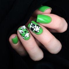 Born Pretty 1 Pc Stamping Plate Motif Panda Manicure Nail Art Image Plate Rectangulaire BPX-L015