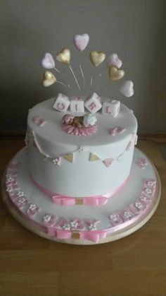 Pink Baby shower for girls