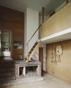 Alvar Aalto. Aalto House, Helsinki. 1955.