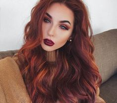 Natural red hair color - Hairstyle Fix Hair Color For Women, Red Hair Color, Blue Hair, Red Hair With Blue Eyes, Hair Colors For Blue Eyes, Color Blue, Red Hair Looks, Hair Colours, Orange Color