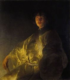 Jan Lievens - Portret van een jonge man