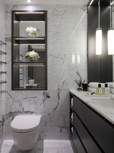 Hans Crescent - contemporary - bathroom - London - Laura Hammett Ltd