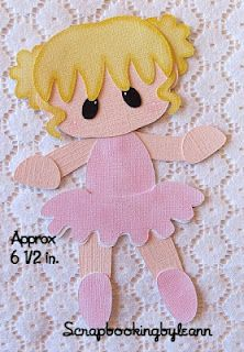 Ballerina Girl Paper Piecing#Repin By:Pinterest++ for iPad#