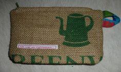 """Taschenorganizer - Schlampermapperl """"Kaffeesack"""",22 x 12 x 4 cm - ein Designerstück von vansten-design bei DaWanda"""