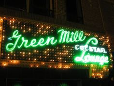 A sign you're in Chicago? The Green Mill, the city's oldest jazz club, 1907, and the establishment most featured in Lake Claremont Press guidebooks in the last 20 years (Chicago Pin of the Day, 9/18/2014).