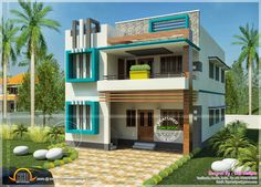 Simple Exterior House Designs In Kerala 2 bedroom house plans kerala style | design ideas 2017-2018