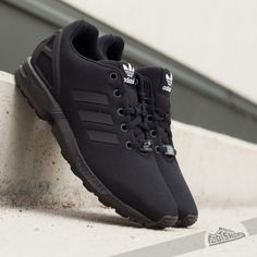 quality design e308d cc4a4 Adidas ZX Flux ~ all black All Black Adidas Trainers, Adidas All Black  Shoes,