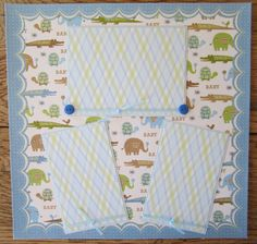 scrapbook+layouts+rugged+baby+boy+arrival | ... Scrapbook Page Baby Boy Premade Page 2 Page Layout by Island