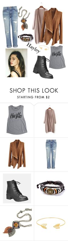 """""""Hayley Marshall"""" by belladream491 on Polyvore featuring Chicwish, Current/Elliott, Avenue and Lord & Taylor"""